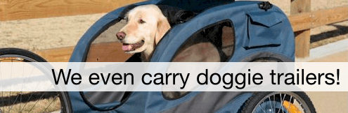 Doggie carriers for your bike